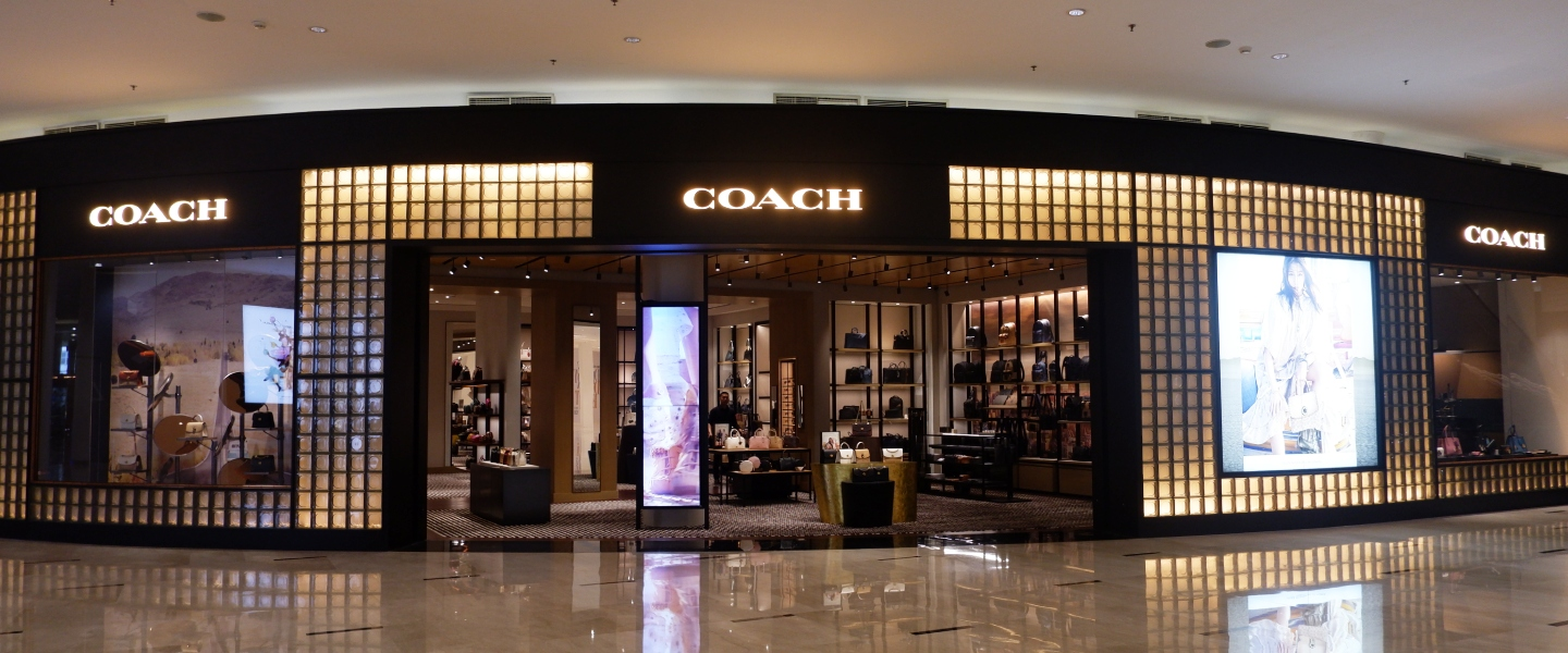The Largest COACH Boutique At Senayan City