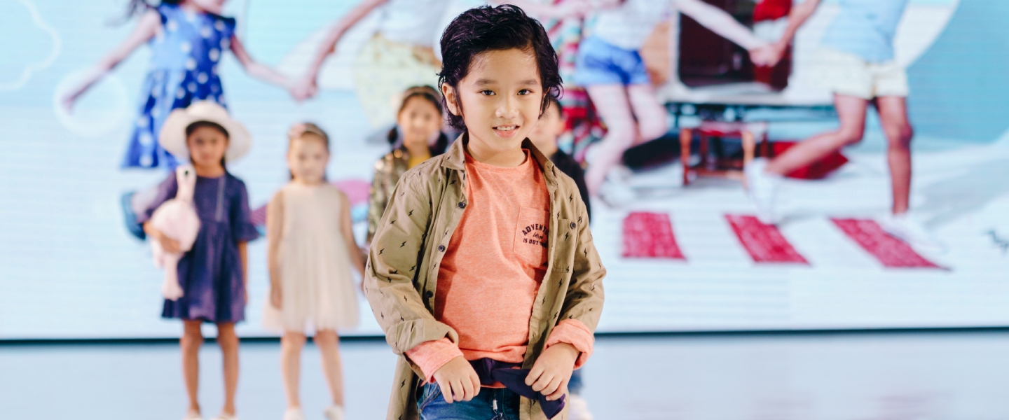LET KIDS BE KIDS on Fashion Nation XIV