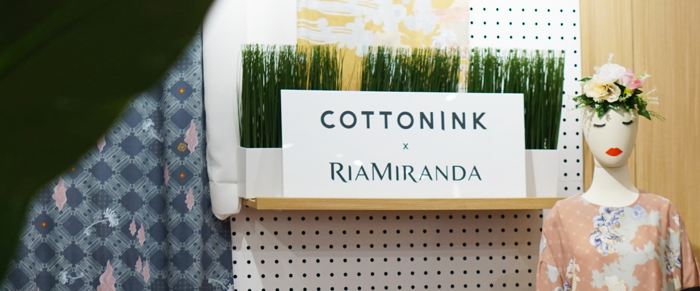 #COTTONINKxRIAMIRANDA Hari Raya Collections