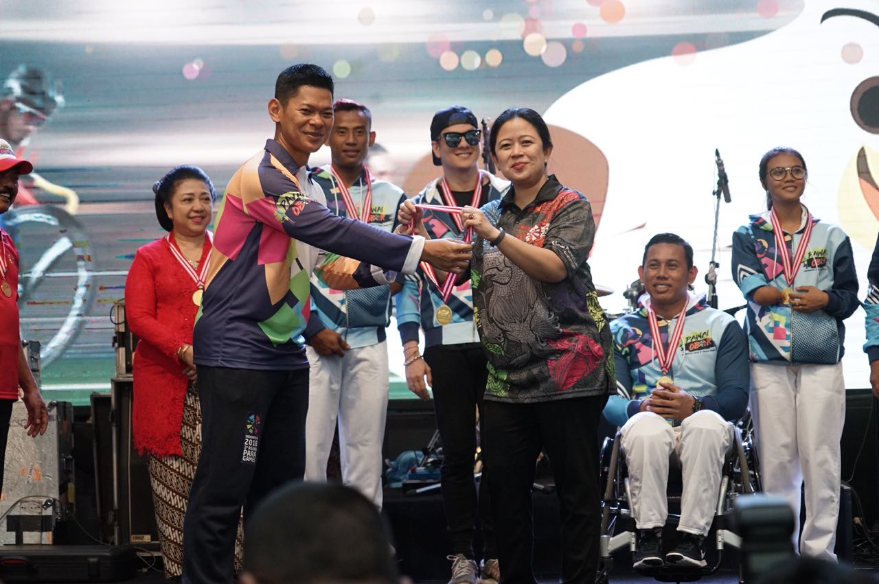 Indonesia Torch Relay for Asian Para Games 2018