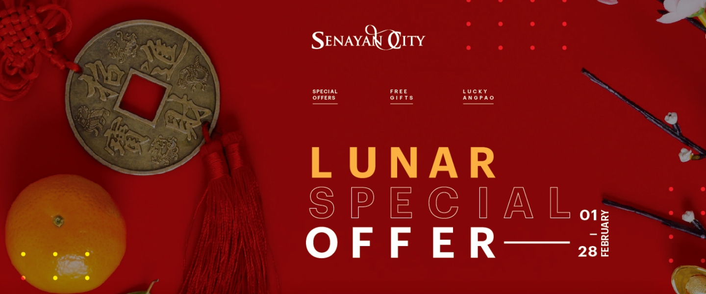 LUNAR SPECIAL OFFERS AND VALENTINE'S TREATS