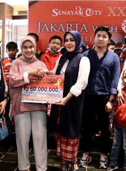 Senayan City X Jakarta With Love Berbagi Bersama A