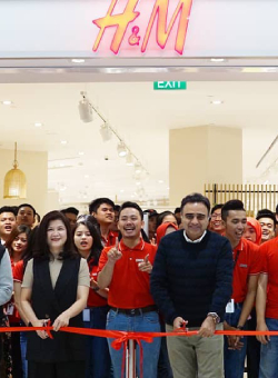 THE NEWEST CONCEPT STORE OF H&M IN INDONESIA