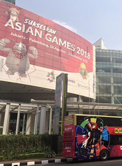 Senayan City as Shopping Destination ASIAN GAMES
