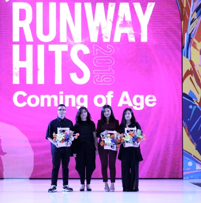 RUNWAY HITS 'COMING OF AGE'
