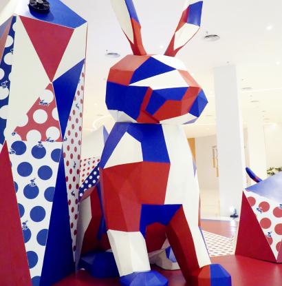 Giant Bunnies Meriahkan Paskah di Senayan City