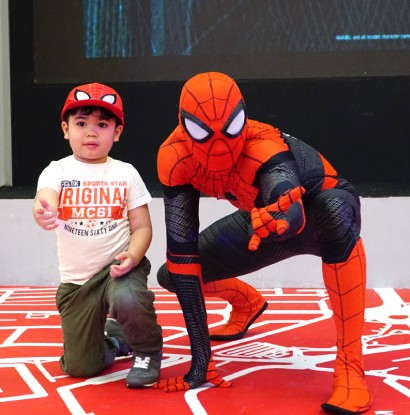 Senayan City 'SUMMER PLAY FEST' with SPIDER-MAN: FAR FROM HOME