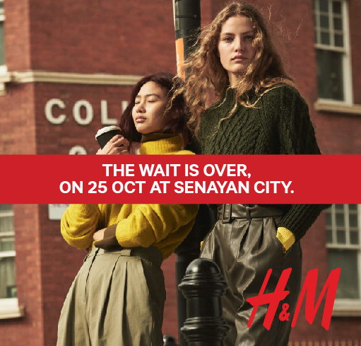 H&M NOW OPEN