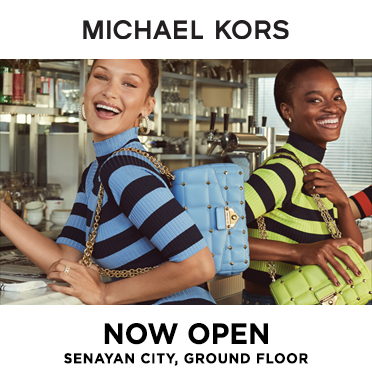 MICHAEL KORS IS NOW OPEN - SENAYAN CITY GROUND FLOOR