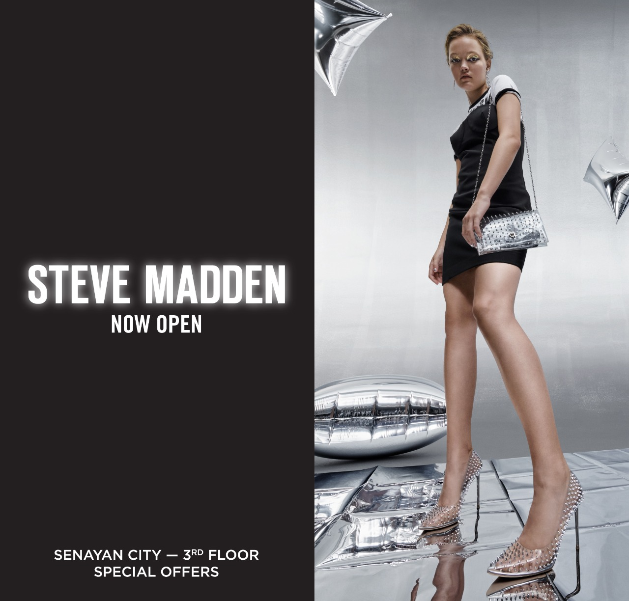 STEVE MADDEN NOW OPEN