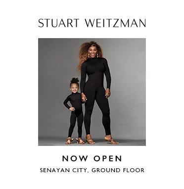 STUART WEITZMAN IS NOW OPEN- SENAYAN CITY GROUND FLOOR