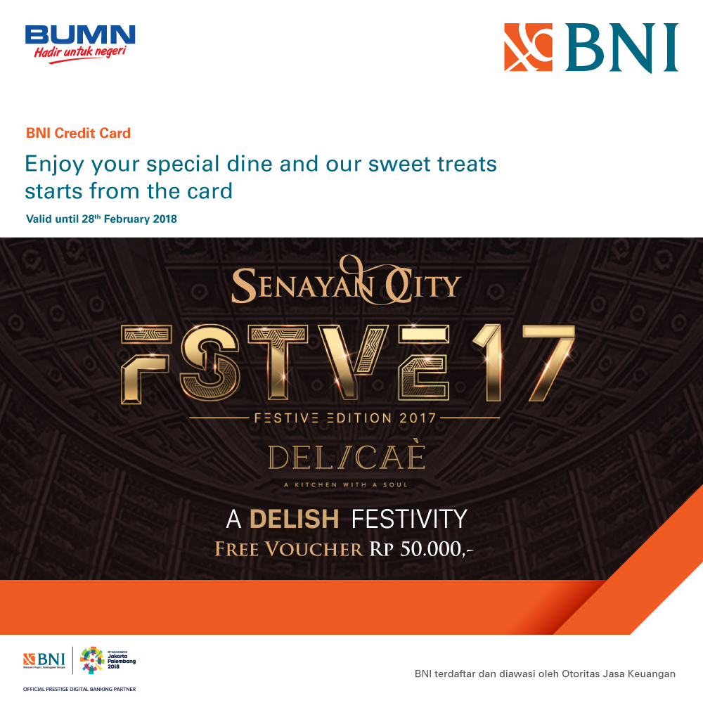 A delish Festivitiy on this FSTVE17 from BNI 46 at DELICAE
