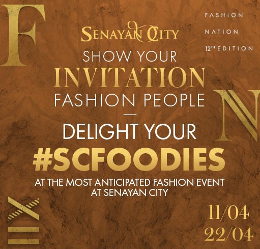 #SCFOODIES for Fashion People!