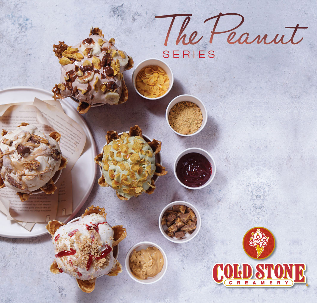 Cold Stone The Peanut Series