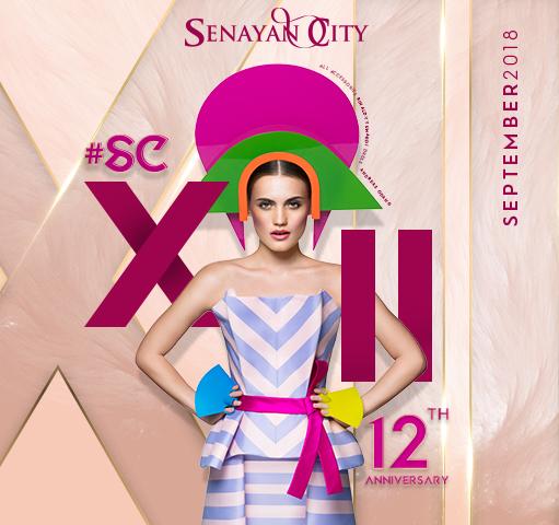 SENAYAN CITY XII YEARS ANNIVERSARY