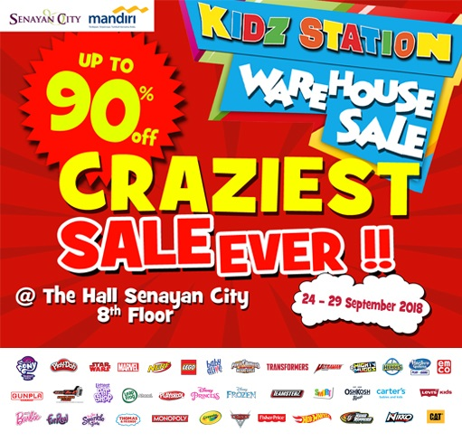 KIDZSTATION WAREHOUSE SALE