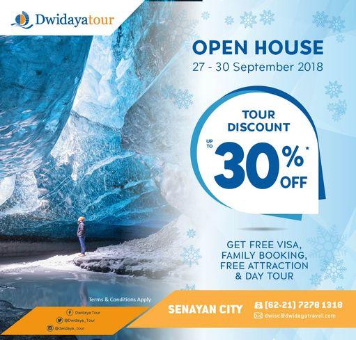 Open House Dwidaya Tour