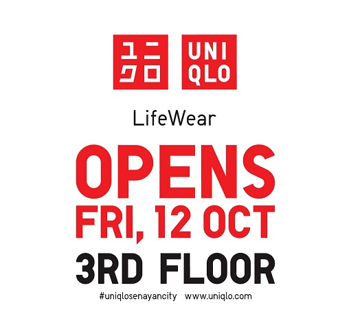 UNIQLO OPENS THIS FRIDAY