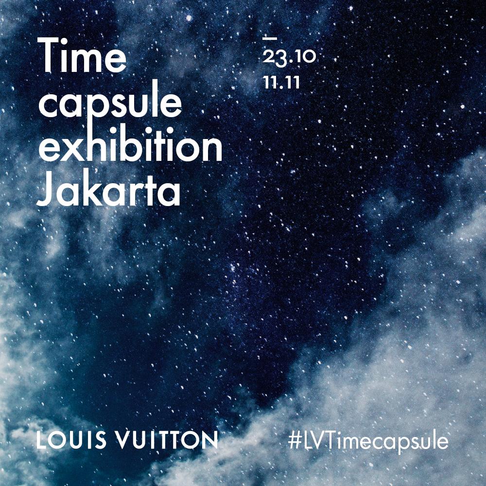 LOUIS VUITTON - TIME CAPSULE EXHIBITION JAKARTA