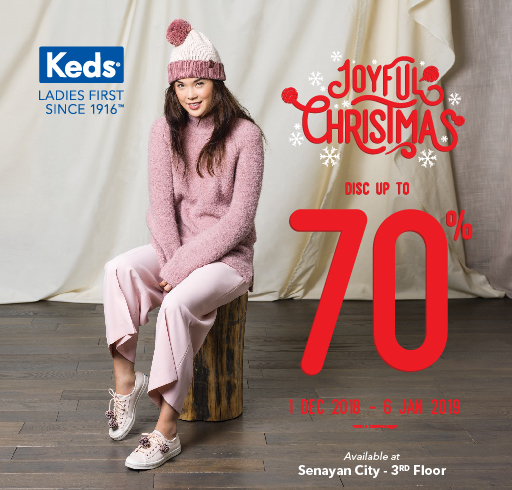 KEDS JOYFUL CHRISTMAS