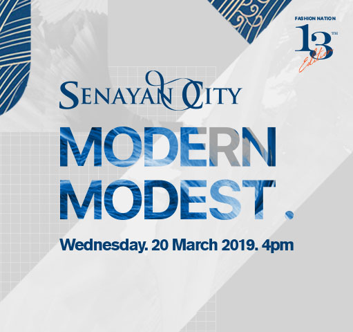 SENAYAN CITY MODERN MODEST