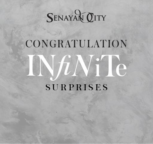 WINNERS ANNOUNCEMENT OF SENAYAN CITY INFINITE SURPRISES 2018 - 2019