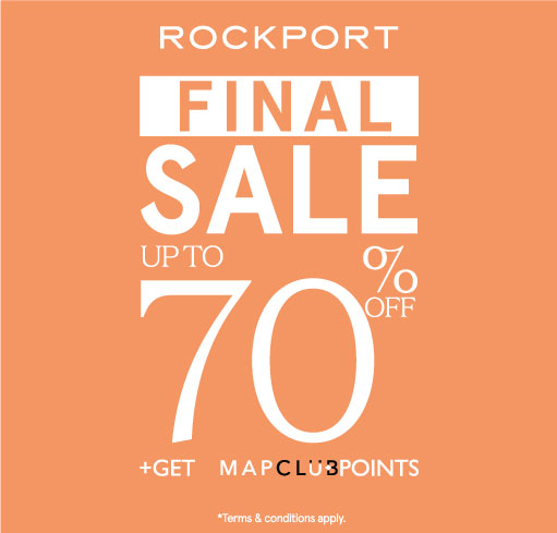 ROCKPORT END OF SEASON SALE