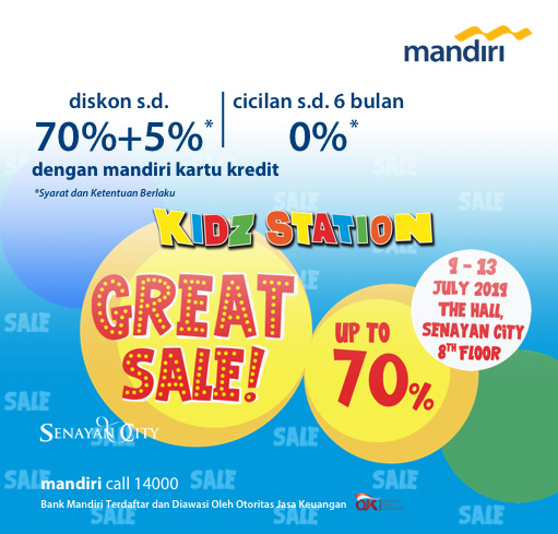 KIDZSTATION GREAT SALE UP TO 70%