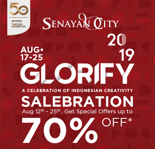GLORIFY SALEBRATION