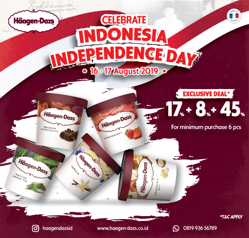 HAAGEN-DAZS INDONESIA INDEPENDENCE DAY