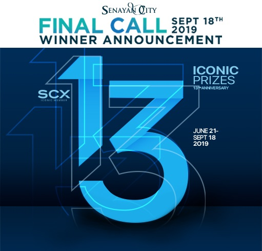 FINAL CALL ICONIC PRIZES