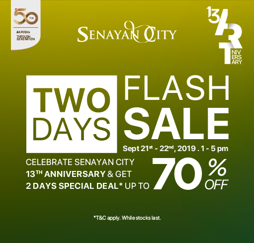 TWO DAYS FLASH SALE