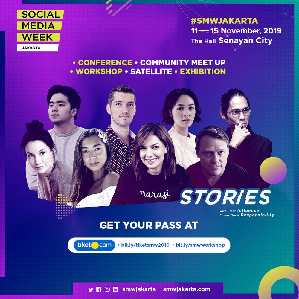 SOCIAL MEDIA WEEK 2019 JAKARTA