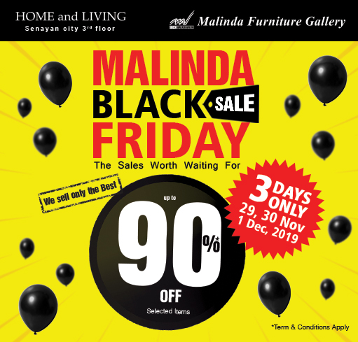 MALINDA SPECIAL BLACK FRIDAY