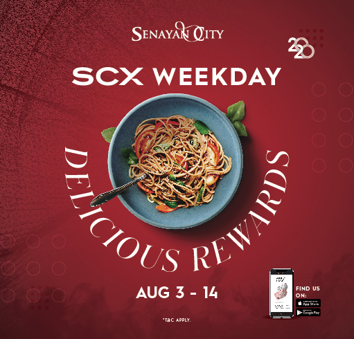 SCX WEEKDAY DELICIOUS REWARDS