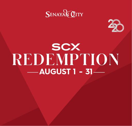 SCX REDEMPTION AUGUST 2020
