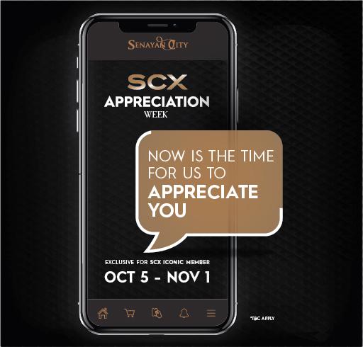 OCTOBER APPRECIATION WEEK