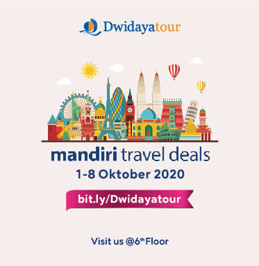 DWIDAYA TOUR MANDIRI TRAVEL DEALS