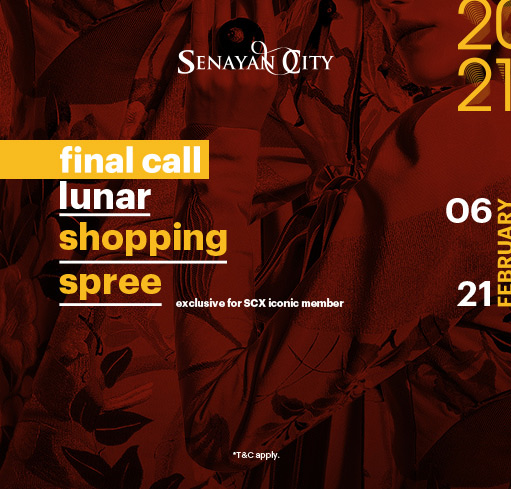 FINAL CALL LUNAR SHOPPING SPREE