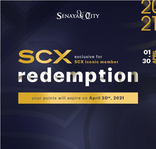 SCX REDEMPTION APRIL 2021