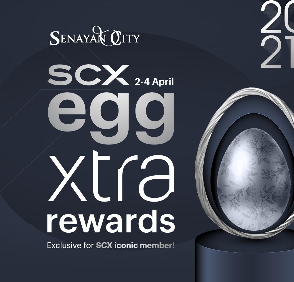 SCX EGGXTRA REWARDS