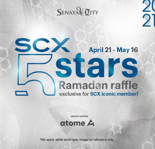 SCX 5 STARS RAMADAN RAFFLE